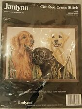 Janlynn Counted Cross Stitch Kit  RETRIEVERS  #58 - 5 Dogs