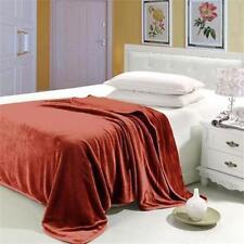 Couvertures en flanelle pour le lit