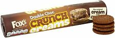 FOXS CRUNCH CREAMS Filled Sandwich Biscuits SELECTION +Bulk Classic Sweets