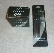 BOTTLE PARKER QUINK BLACK BOTTLE INK FOR FOUNTAIN PEN CALLIGRAPHY & CARTRIDGES