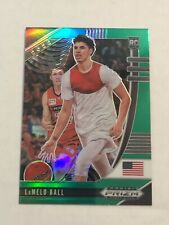 2020-21 Panini Prizm Draft Picks LaMelo Ball Green Prizm Rc #43 Hornets