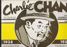 C1 Earl Derr Biggers CHARLIE CHAN Futuropolis 1980 ANDRIOLA Epuise JAQUETTE