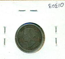 CAP Canada 10 cents 1888 Abt VG