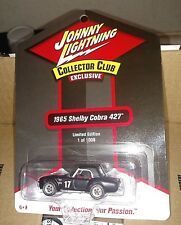 2017 Johnny Lightning Collectors Club 1965 Shelby Cobra 427-1/64-1 of 1008
