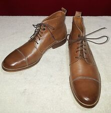 Hush Puppies Gage Parkview Tan Leather 10 1/2 ~ New