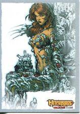 Breygents Witchblade 2014 Silver Border Parallel Base Card #25