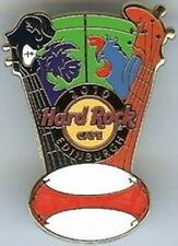 Hard Rock Cafe EDINBURGH 2010 6 Nations Games RUGBY PIN Scotland v France #53334