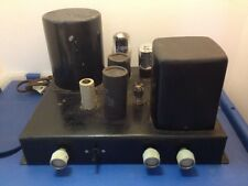 Heathkit Model A-9C Mono Block Vacuum Tube Amplifier 12AX7 For Parts or Repair