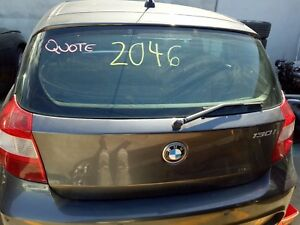 BMW E87 1-SERIES 120i 130i TAIL GATE HATCH SPARKLING GRAPHITE ( A22 )  04-07