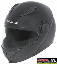 Casco Apribile Modulare Moto HELD Travel Champ Col. Nero Opaco Tg. XL 61/62cm