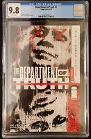 THE DEPARTMENT OF TRUTH (2020) #1 ~CGC 9.8~OPTIONED FOR 2021~COVER A~IMAGE~HOT!!