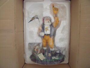 Minnesota Vikings Danbury Mint Mr. Santa Claus Christmas Original Box And COA