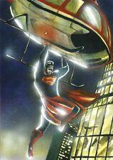 DC Comics SUPERMAN Original Art AQUAMAN BATMAN WONDER WOMAN FLASH JUSTICE LEAGUE