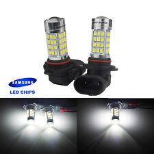 2x Xenon LED 9005/H10/HB3 SAMSUNG 54 SMD Ampoule 6000K DRL feux de brouillard