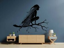 Fairy decal Pixie decal Wings Enchantress Wall Vinyl Decal Sticker Decor TK3365