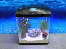 HRC-320 schwarz Nano Aquarium Komplettaquarium Mini Aquarium+Filteranlage