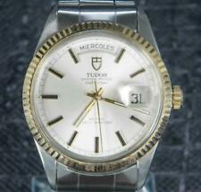 Tudor Oyster Prince Date Day 36 MM Gold/Steel Rotor Self-winding Rare Find 70170