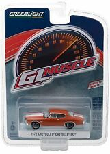 1:64 GreenLight *GL MUSCLE R18* Orange 1972 Chevrolet Chevelle SS NIP!