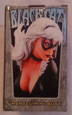 Marvel Comics Bowen Spiderman Black Cat mini bust/statue with box VGC
