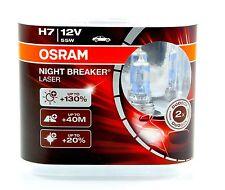 OSRAM h7 12v 55w NIGHT BREAKER Nightbreaker LASER +130% 2st - 64210nbl + + Nuovo + +