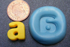 """Reusable Letter """"A"""" Silicone Food Safe Mould, Mold, Sugarcraft, Jewellery, Cake"""