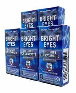 Cataract Bright Eyes Eye Drops 5 Boxes 50ml Ethos Vision Improvement