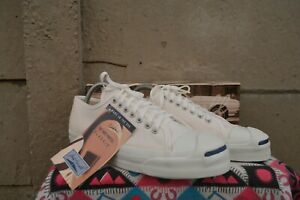 Converse Jack Purcell Vintage Rare Canvas Deadstock OG MADE IN USA 9.5 NWB