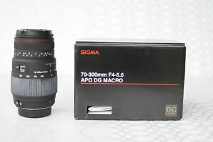 Sigma 70-300mm f/4-5.6 DG APO Macro Telephoto Zoom Lens for Nikon SLR Cameras