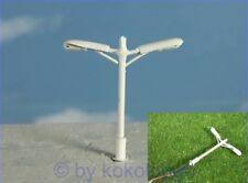 S274 - 10 pcs Streetlights peitschenlampen 2 Flame 3,8cm Whip Light