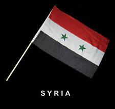 SYRIA SYRIAN Hand Waver Flag - 30x45cm
