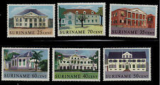 SURINAM      SCOTT# 291-300    MNH     BUILDING ISSUE  (SET OF 10)