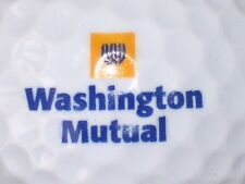 (1) WASHINGTON MUTUAL FAILED BANK BANKING LOGO GOLF BALL
