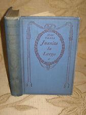 Antique Collectable Book Of Juanita La Larga Por Juan Valera - 1930's