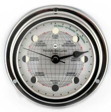 Altitude Monduhr quarz Chrom 125mm