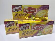3 Packs Lipton Jasmine Tea Bag ( 75 bags total ) - Free Shipping