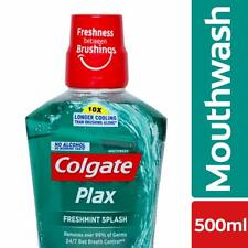 Colgate Plax Fresh Mint Mouthwash - 500 ml + Free Shipping