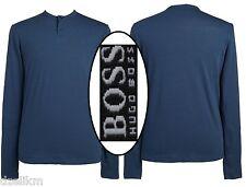 NWT $105 Hugo Boss Black Label Regular Fit Henley Long Sleeve Tee Size XXL