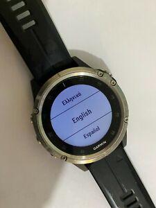 GARMIN FENIX 5 PLUS RUNNING GPS WATCH