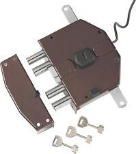 Yale Serratura elettrica da applicare triplice Art. 6823 SX e 60