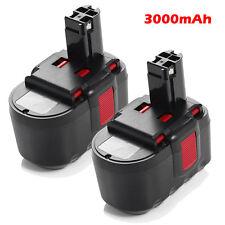 2 x 3000mAh Drill Battery for Bosch 11524 BAT031 BAT030 BAT240 BAT299 1645 24v