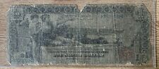 Large size note 1896 educational dollar $1 silver certificate