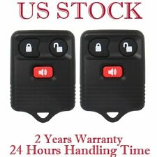 2 Keyless Entry Remote Control Car Auto Key Fob Clicker Transmitter Replacement