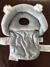 Pottery Barn Kids Boppy Noggin Nest Head Support Bear Ears Gray