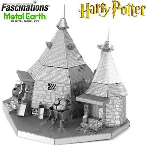 Metal Earth Harry Potter Rubeus Hagrid Hut Laser Cut 3D Model Hobby Building Kit