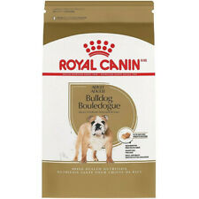 Royal Canin Breed Health Nutrition Bulldog Adult Dry Dog Food 30LB  NEW