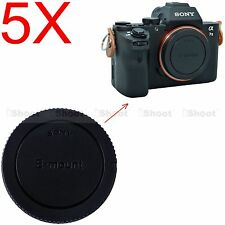 5x Body Cover Cap for Sony E-mount Camera NEX-5T NEX-3 NEX-C3 NEX-F3 NEX-3N QX1