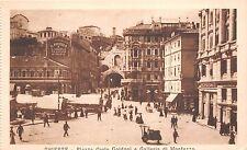 B33083 Trieste Piazza Carlo goldoni e Galerria di Montuzza  italy