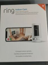 RING Indoor Cam - Compact Camera 1080p HD Live View Night Vision Two Way Audio