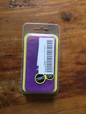 WOW TECHNOLOGIES IPHONE 4 & 4s GEL CASE - 4012B PURPLE