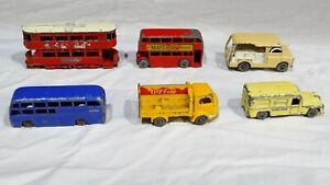 Vintage Matchbox Lesney lot of 6